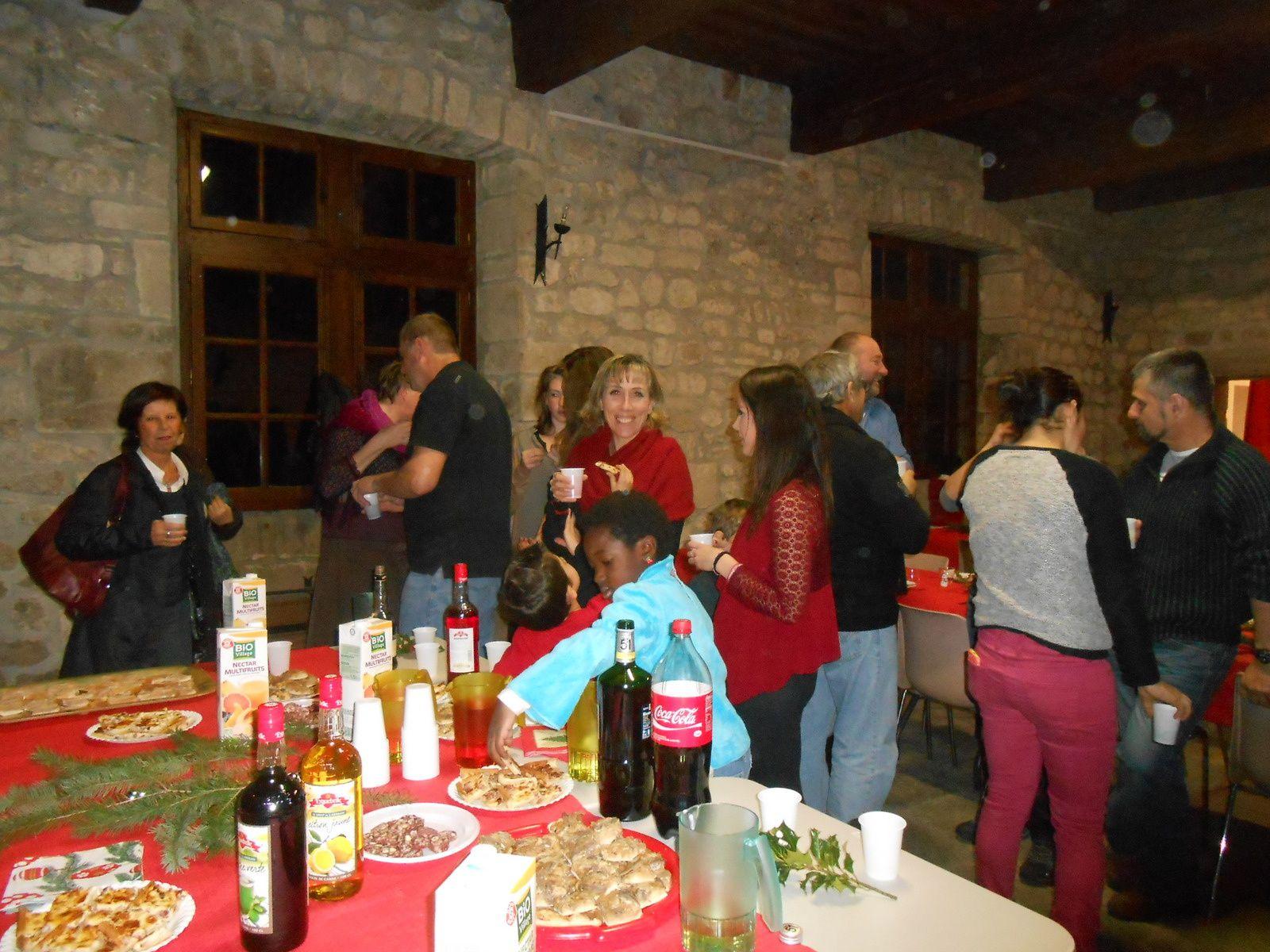 Le Noël du personnel communal à Castrevieille