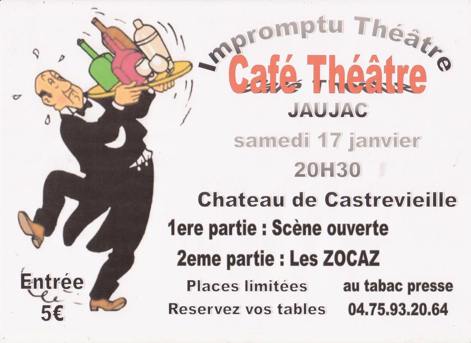 L'Impromptu Théâtre propose une scène ouverte à tous