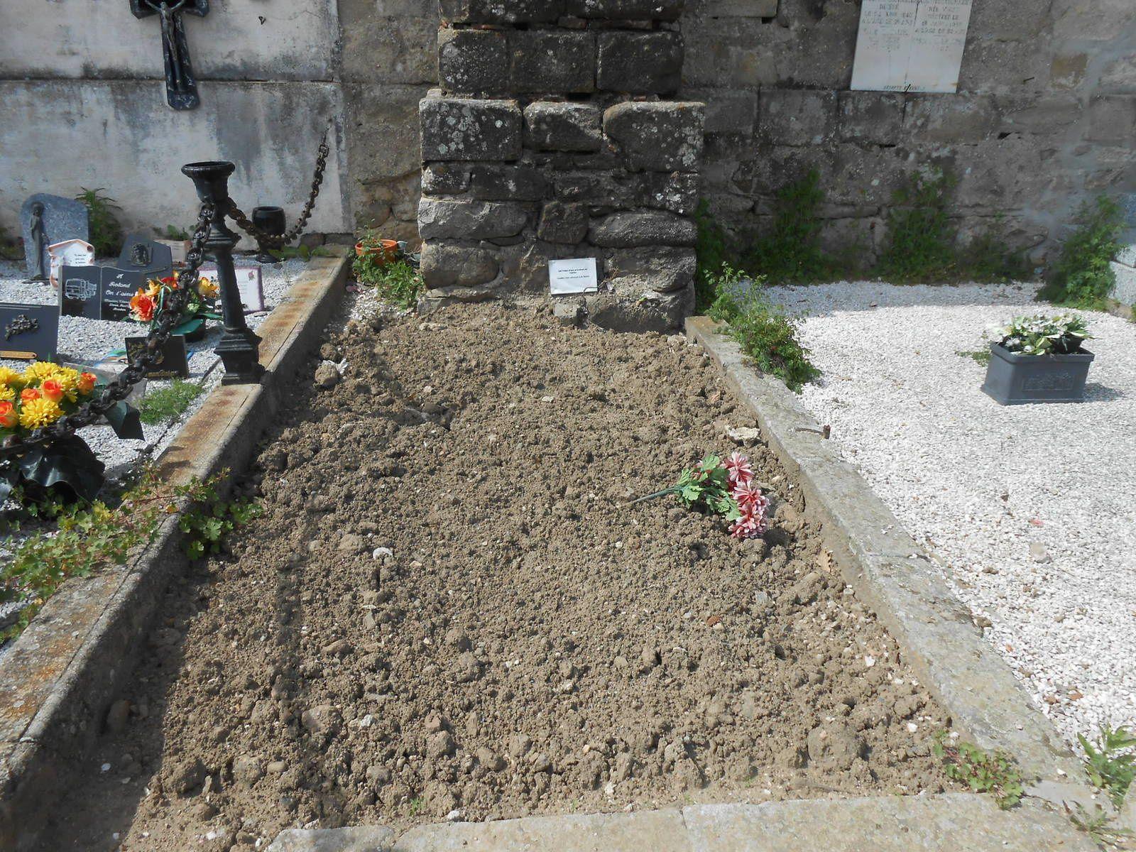 Les concessions après intervention (enlèvement des matériaux et monuments funéraires, ainsi que des restes humains)