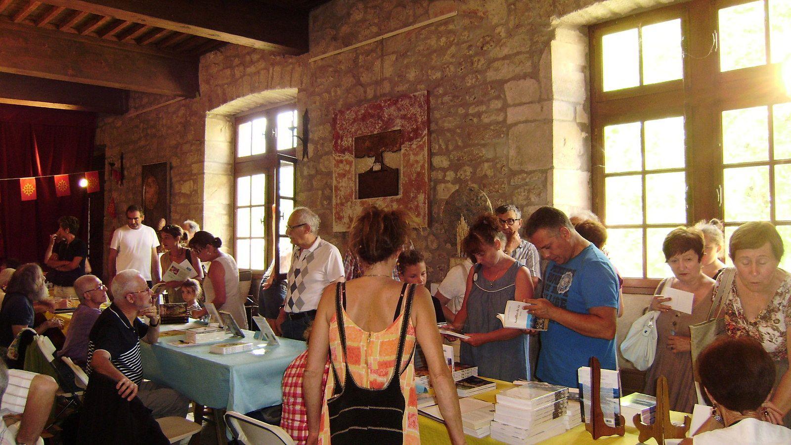 Les auteurs et les artistes accueilleront le public au château de Castrevieille