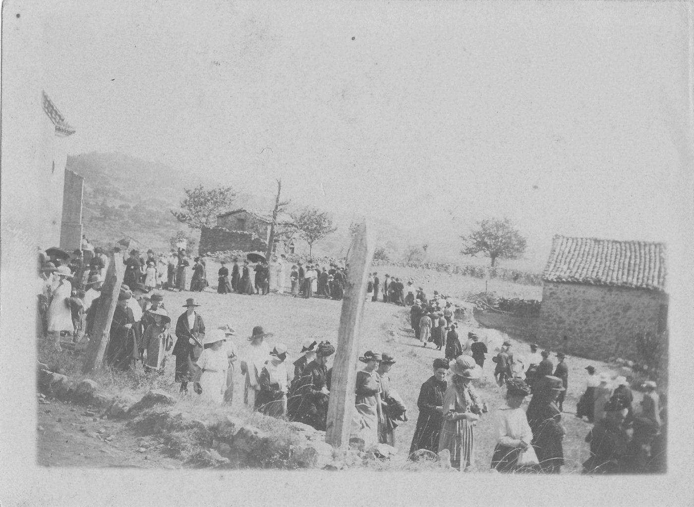 Le pèlerinage du 16 août à la chapelle de Laulagnet