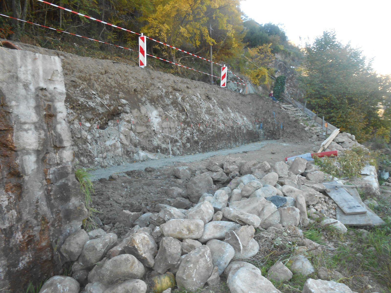 Les travaux d'excavation et de déblaiement ont été effectués, ainsi que les fouilles