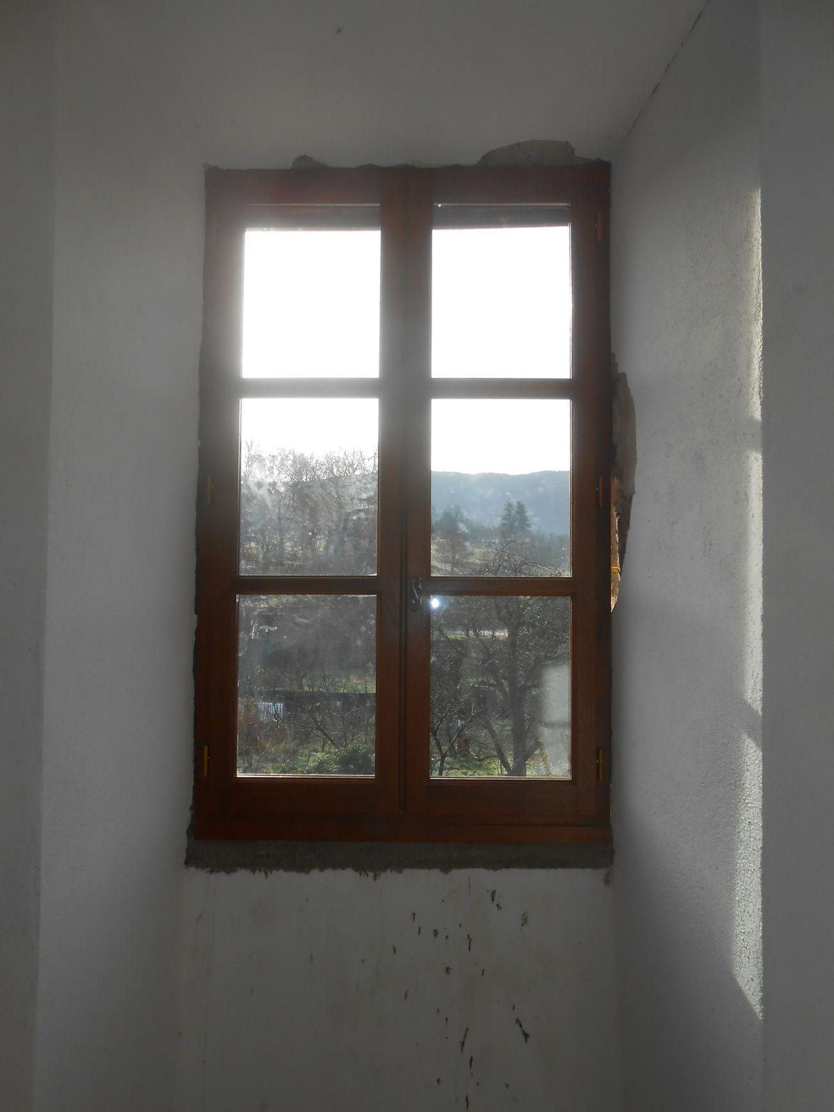 Fenêtre de la tour sud-ouest