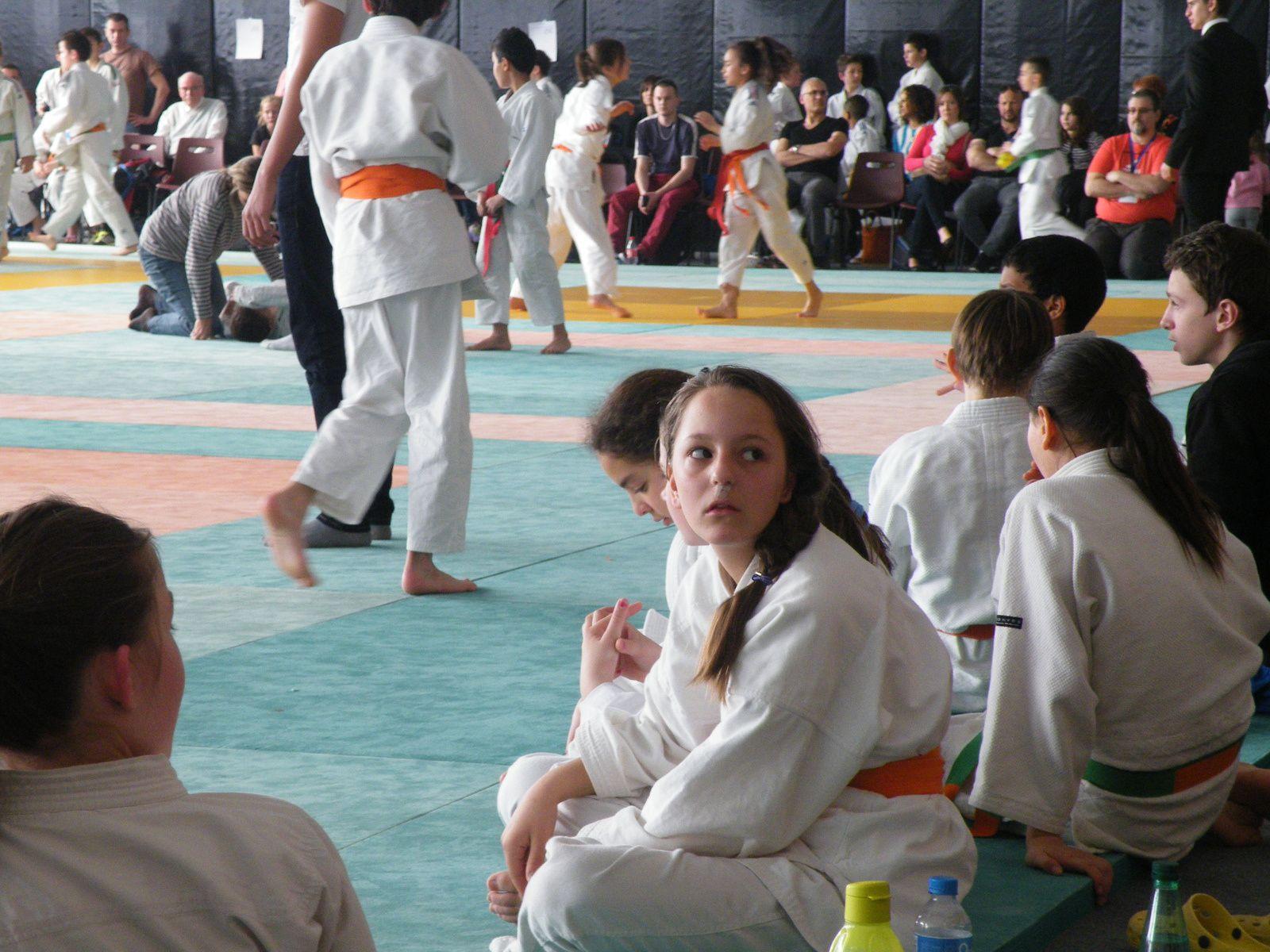 Clémence sur le tatamis