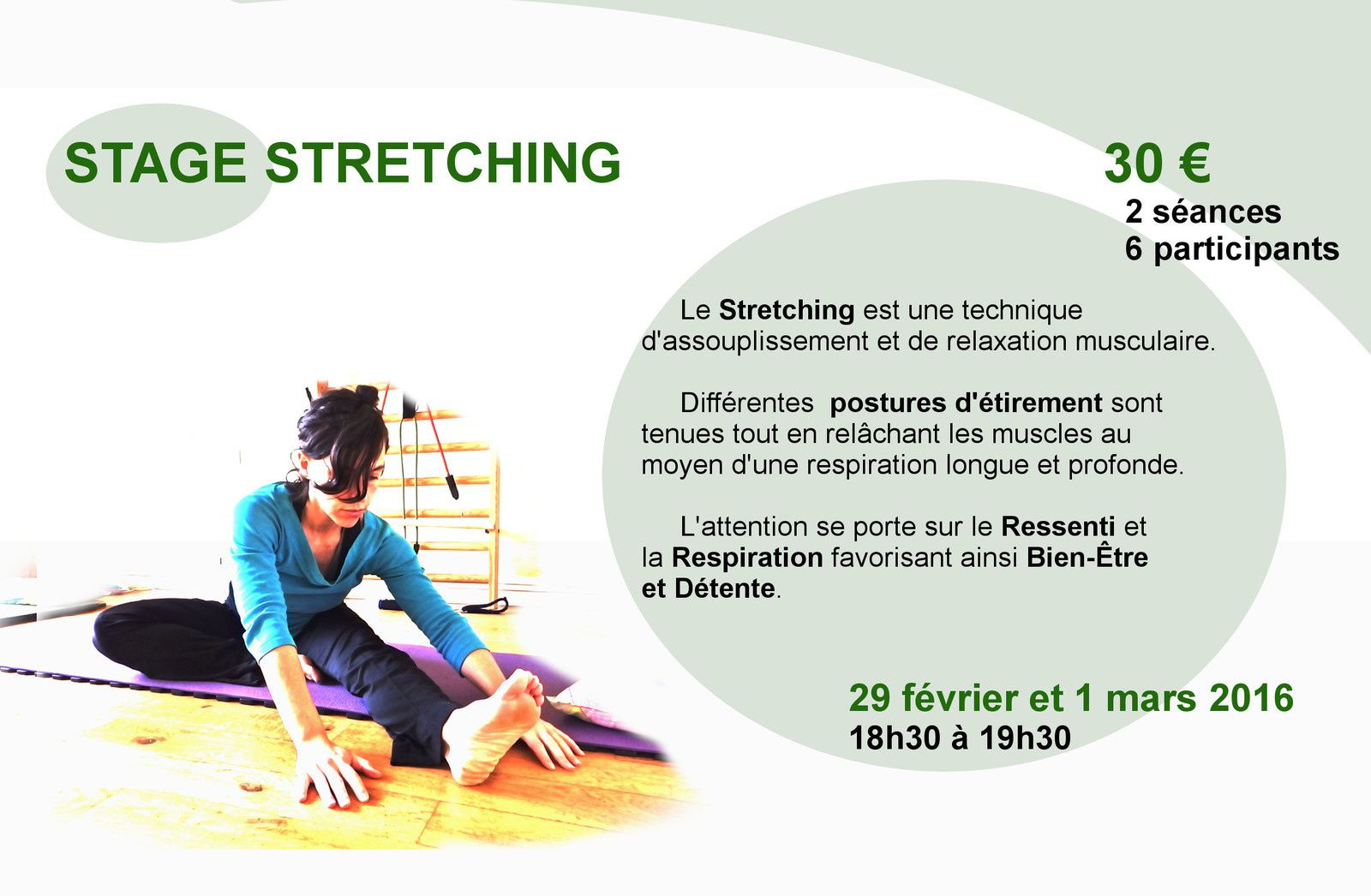 Stage de Stretching - fev 2016