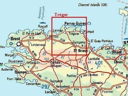 Ploumanac'h - région Bretagne