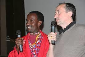 Kenny Matampash (Sage Maasaï) et Xavier Péron