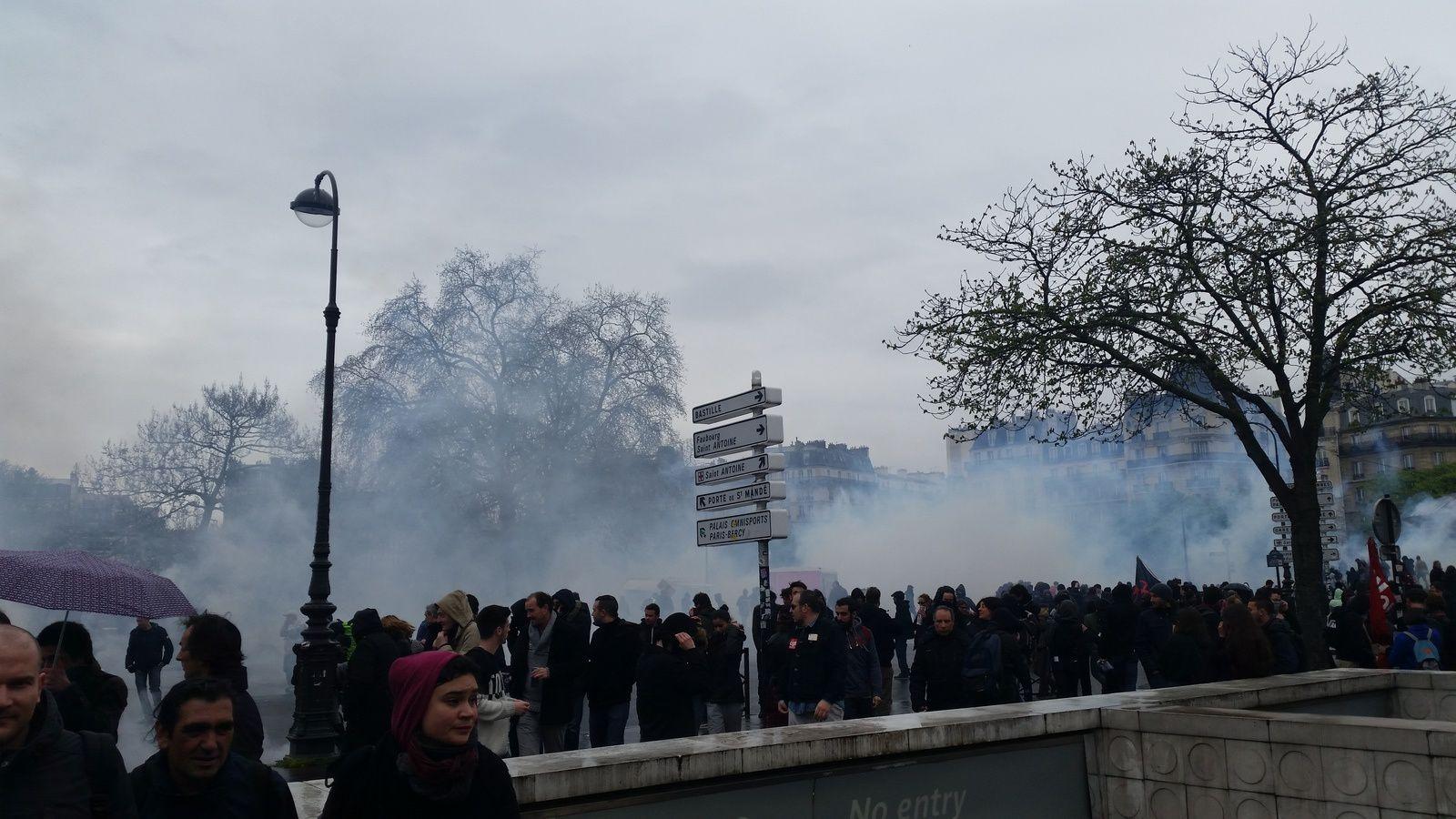 Photos Manifestation Paris 9 Avril 2016