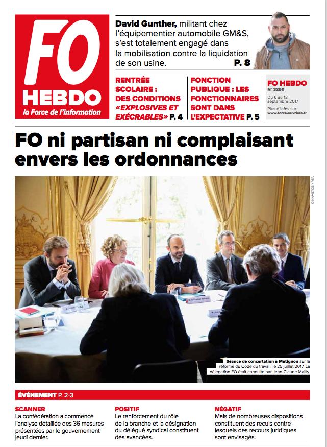 Fo Hebdo Evenement