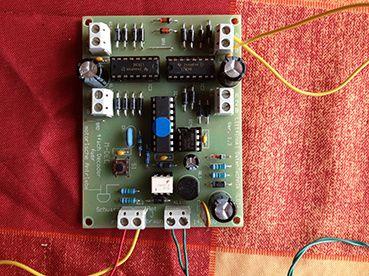 Encodage d'un décodeur d'aiguillage MDEC-DC de LDT