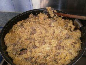 Recette de riz à la viande hachée