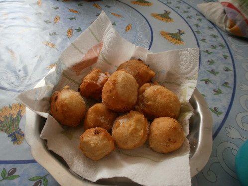 Recette de beignets corses au Brocciu