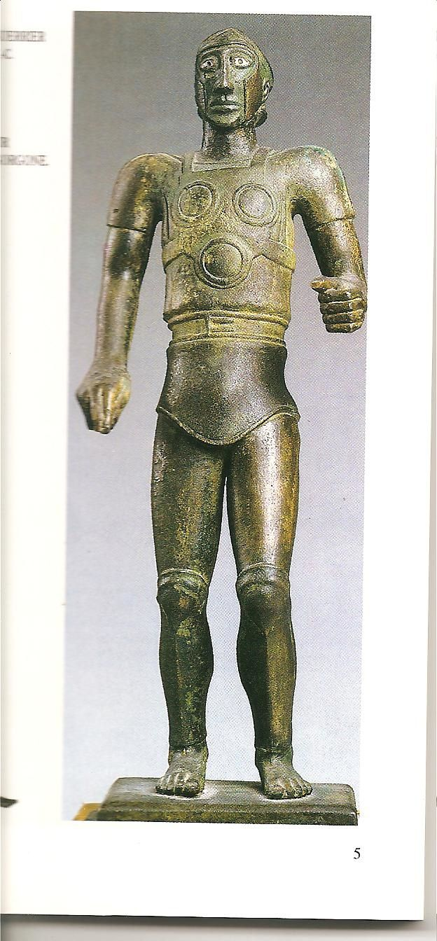 guerrier Samnite au musée du Louvre