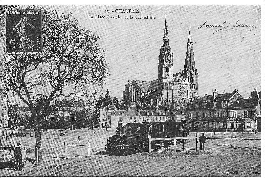 Chartres il y a un siècle