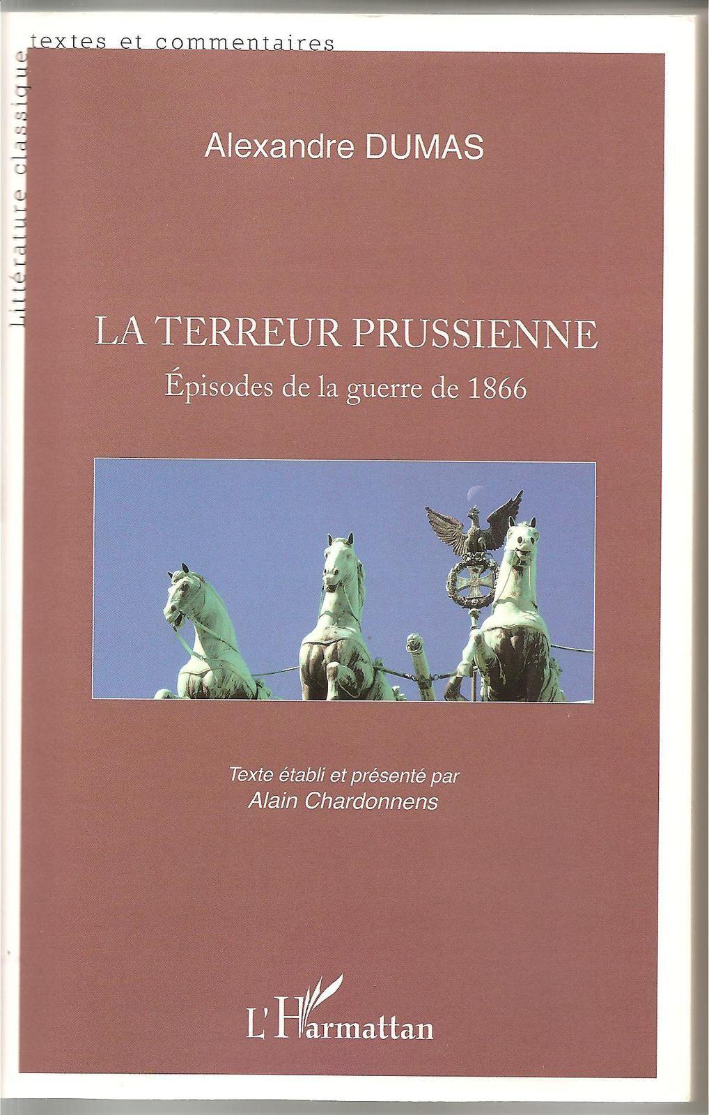 couverture du livre de Dumas édition de novembre 2012