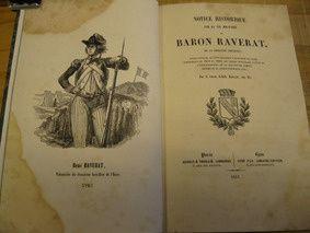 couverture du livre d'Achille Raverat consacré à son père le baron René Raverat