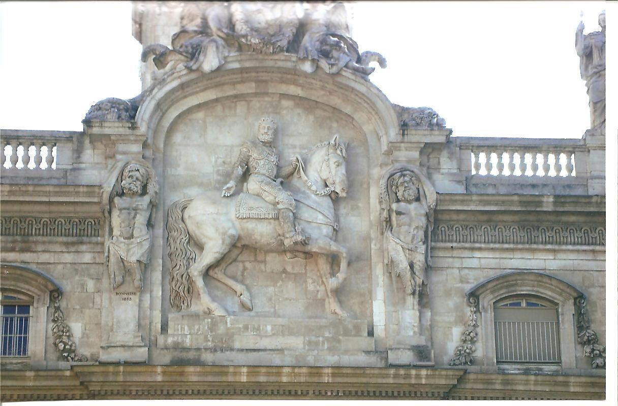 Henri IV à Lyon, photo J.D. 2 août 2015