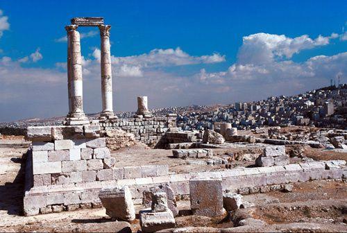 ruines romaines de Philadelphia, image du net