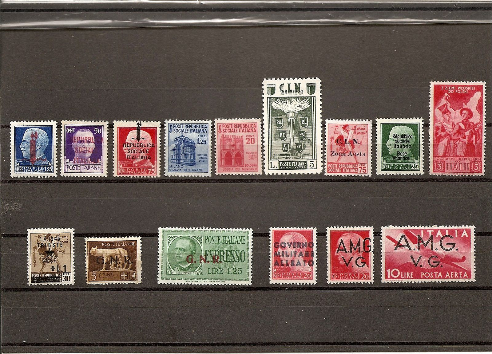 timbres italiens