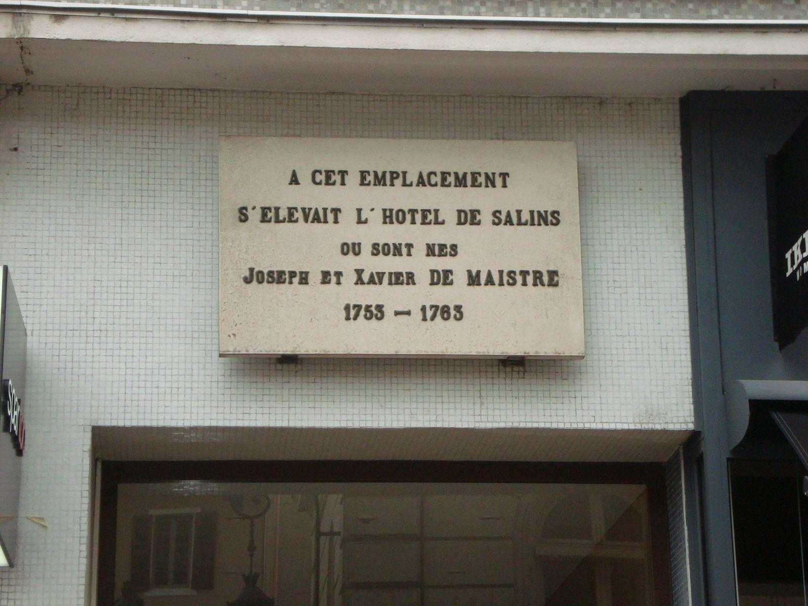 Les frères de Mestre à Chambéry, photos J.D. 24 mars 2017