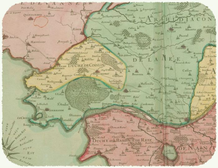 Carte 1706, Lambilly