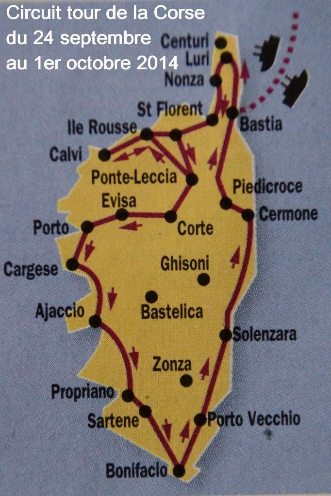 00- Tour de Corse du 24 septembre au 1er octobre 2014