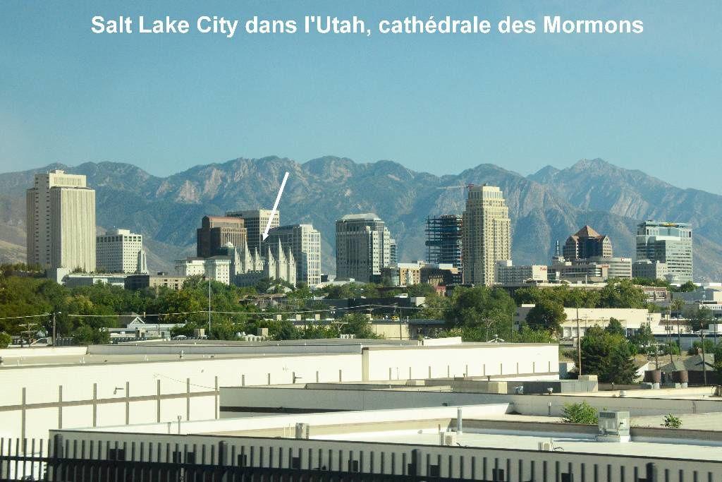 Salt Lake City capitale des Mormons,Tabernacle