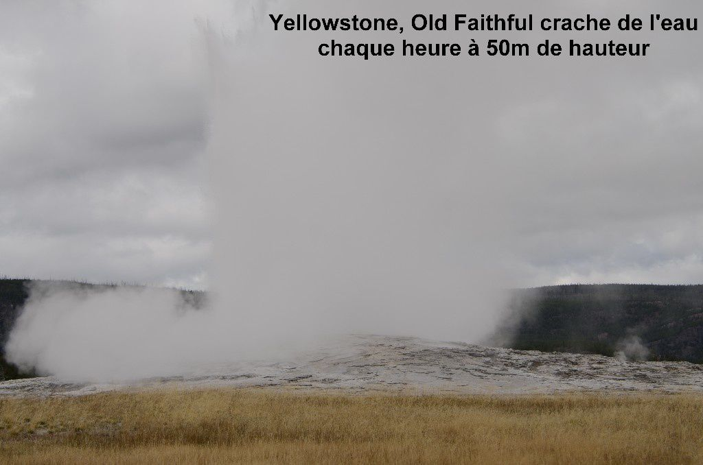 Yellowstone, geyser Old Faithful