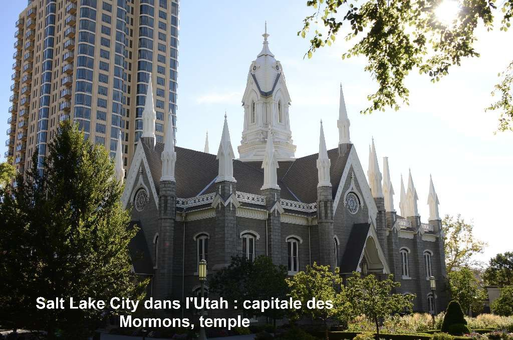 Salt Lake City capitale des Mormons,Tabernacle