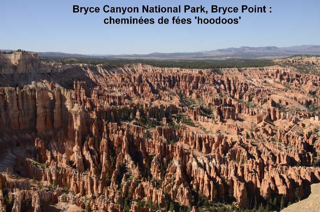 Bryce Canyon, vue panoramique