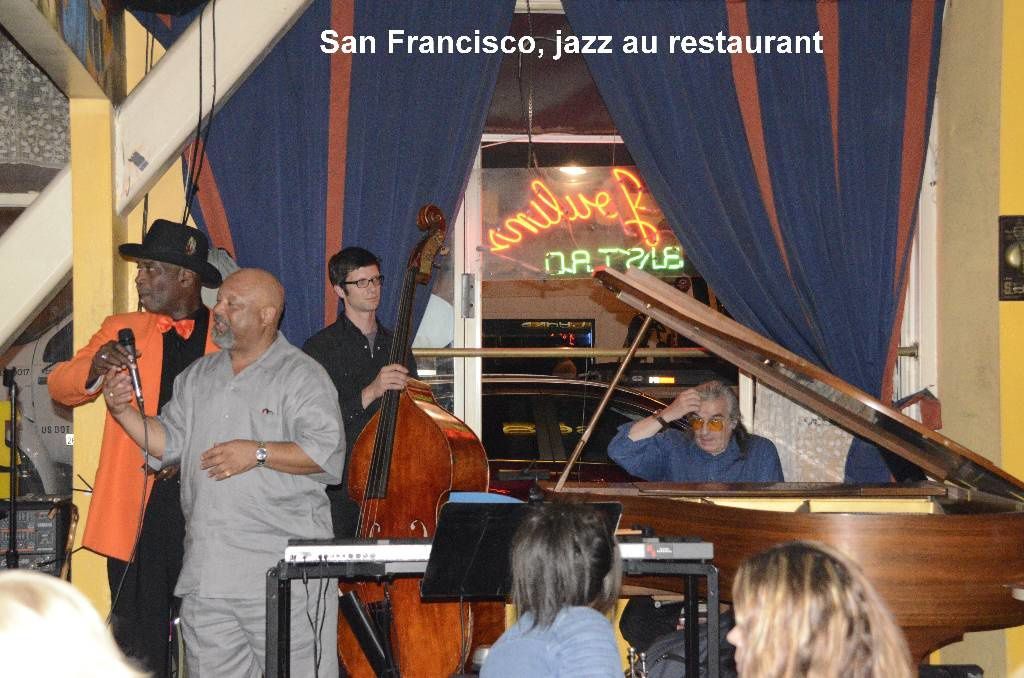San Francisco, jazz au restaurant