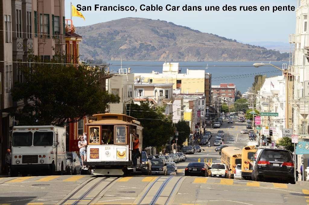 San Francisco, en bateau et en ville :