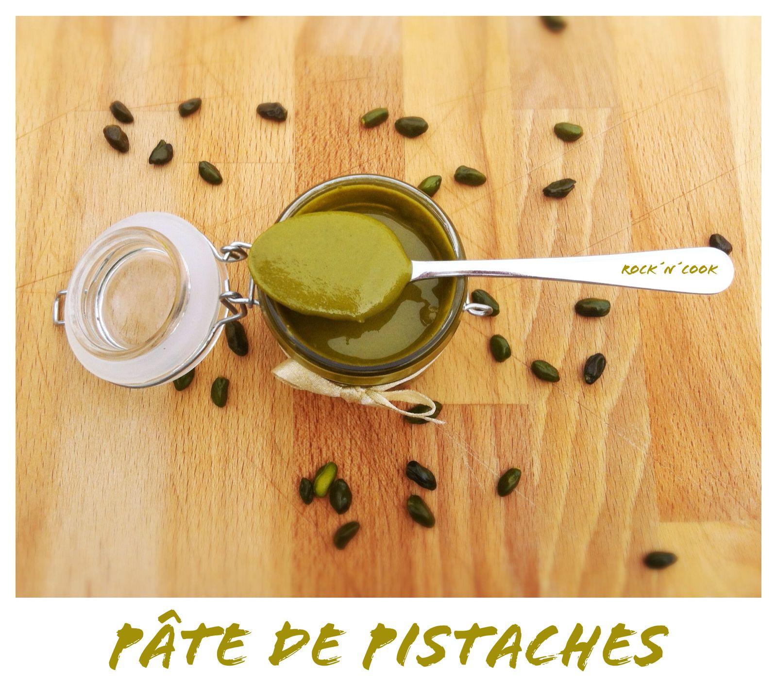 - Pâte de pistaches -