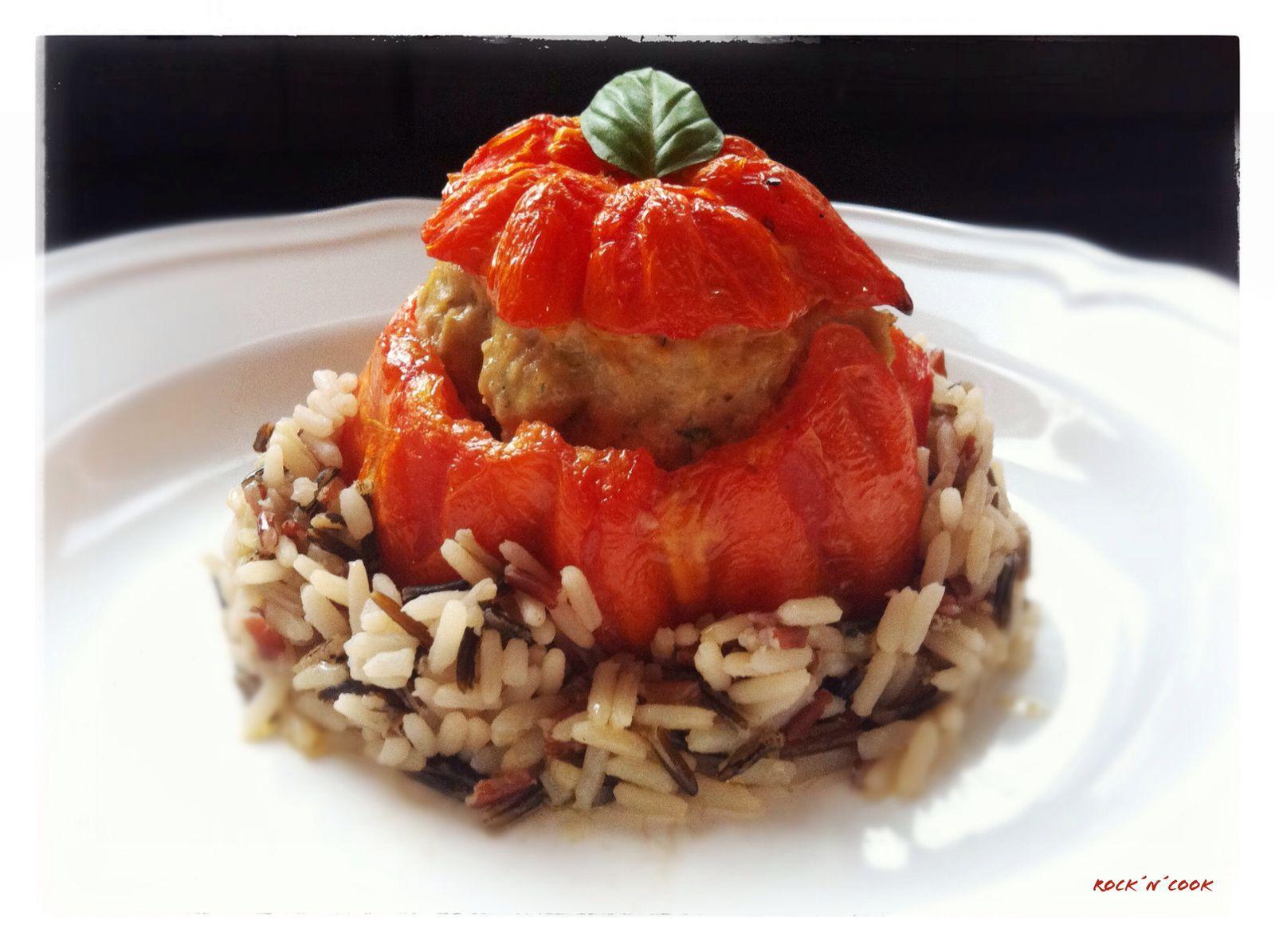 - Tomates farcies -