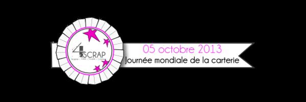 5 oct 2013 : journée mondiale de la carterie