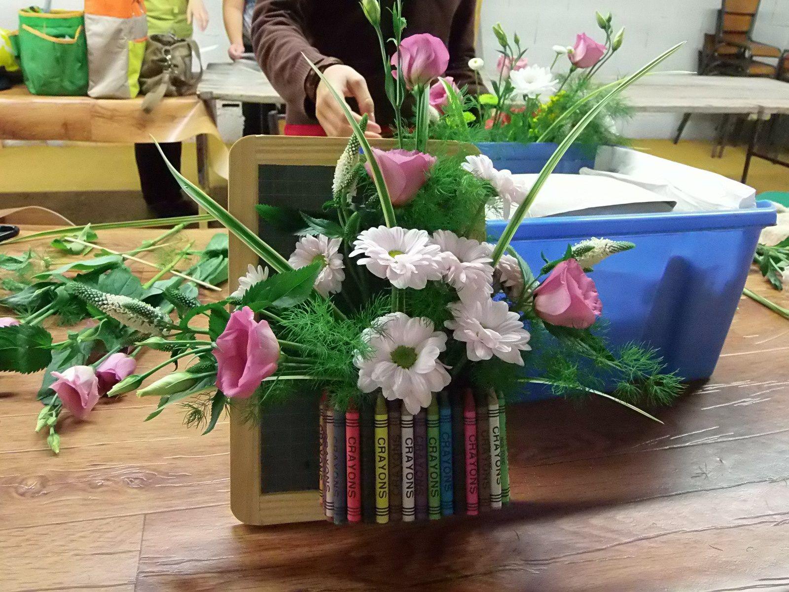 Art Floral de rentrée