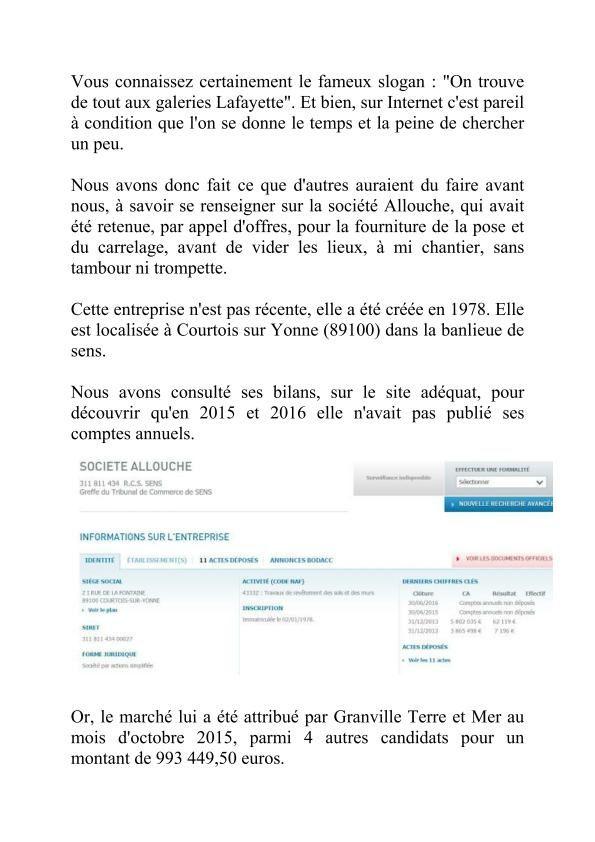 Les Mésaventures du Centre Aquatique.