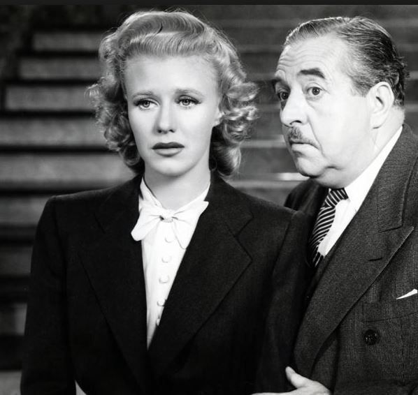 Ginger Rogers et Walter Connolly