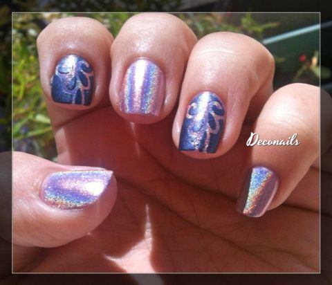 Double accent nail