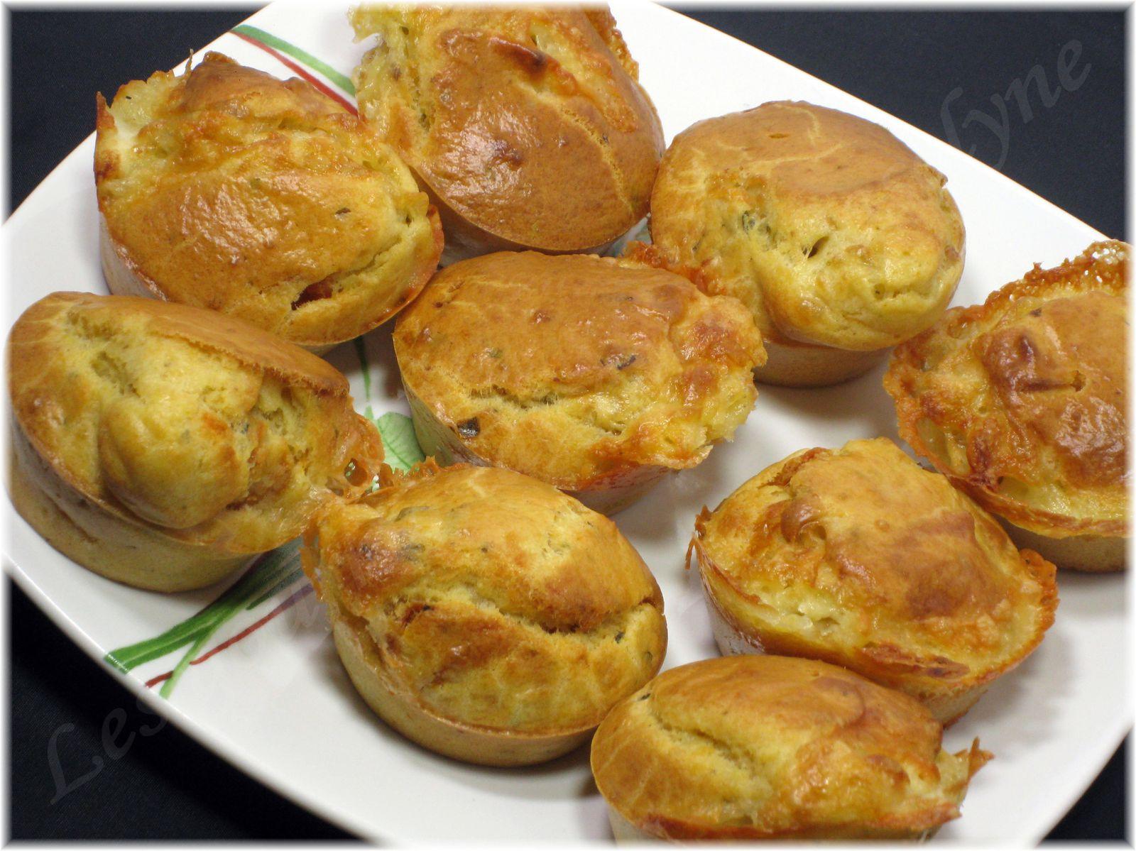 Muffins chèvre tomates séchées