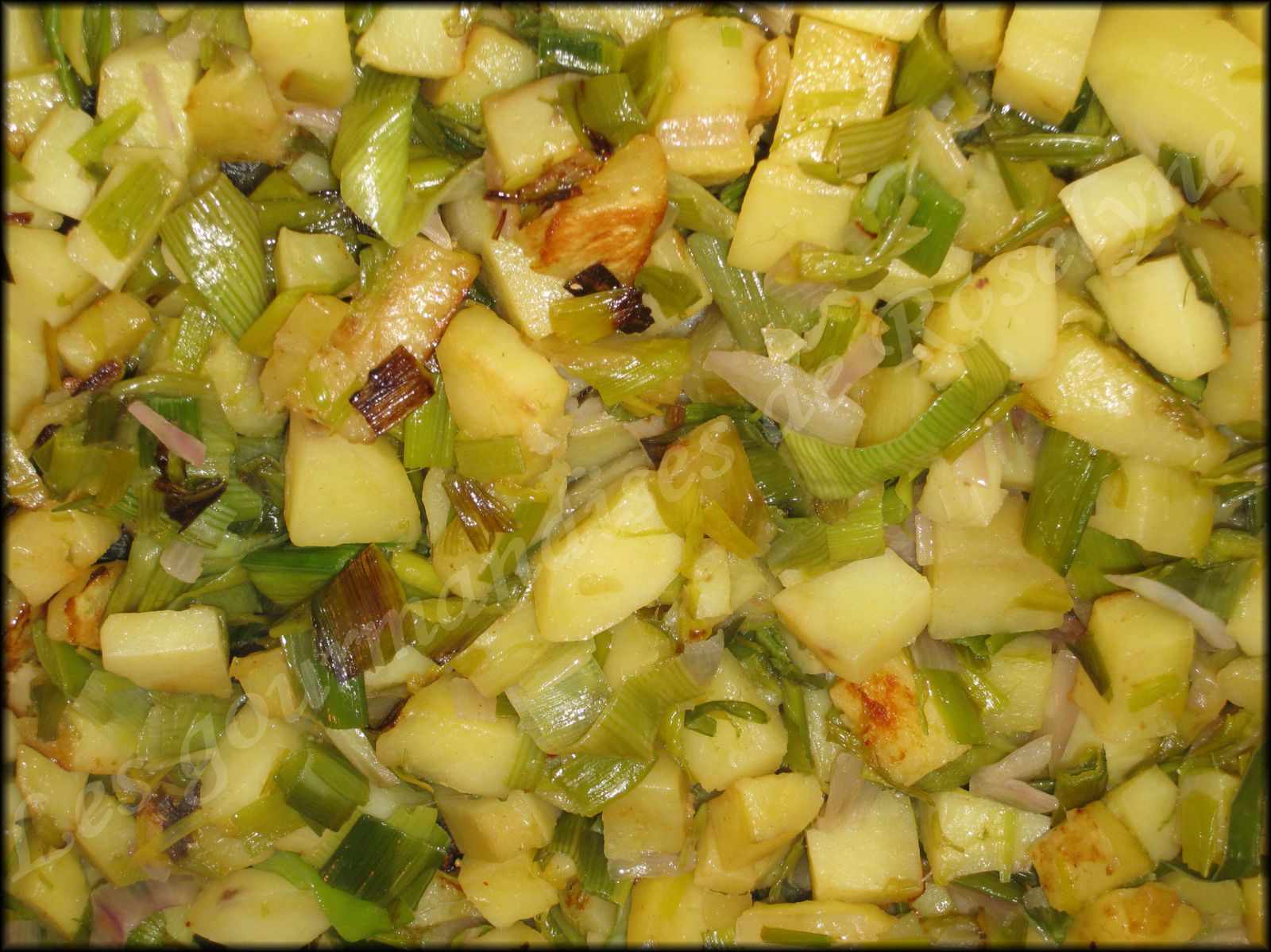 Tarte poireaux pommes de terre
