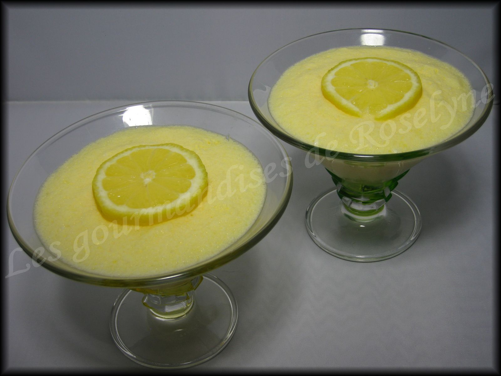 Mousse citron