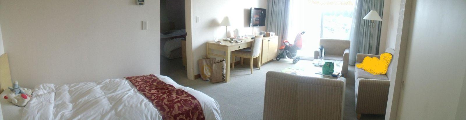 Changement d'hôtel !