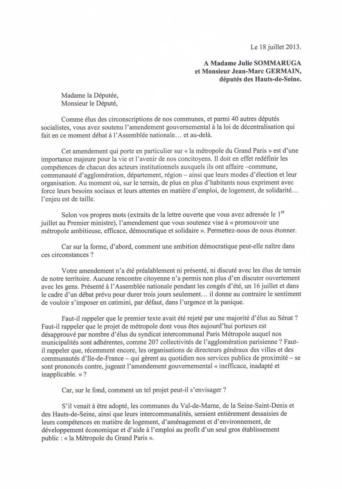 Méropole du Grand Paris: à projet autoritaire, méthode autoritaire