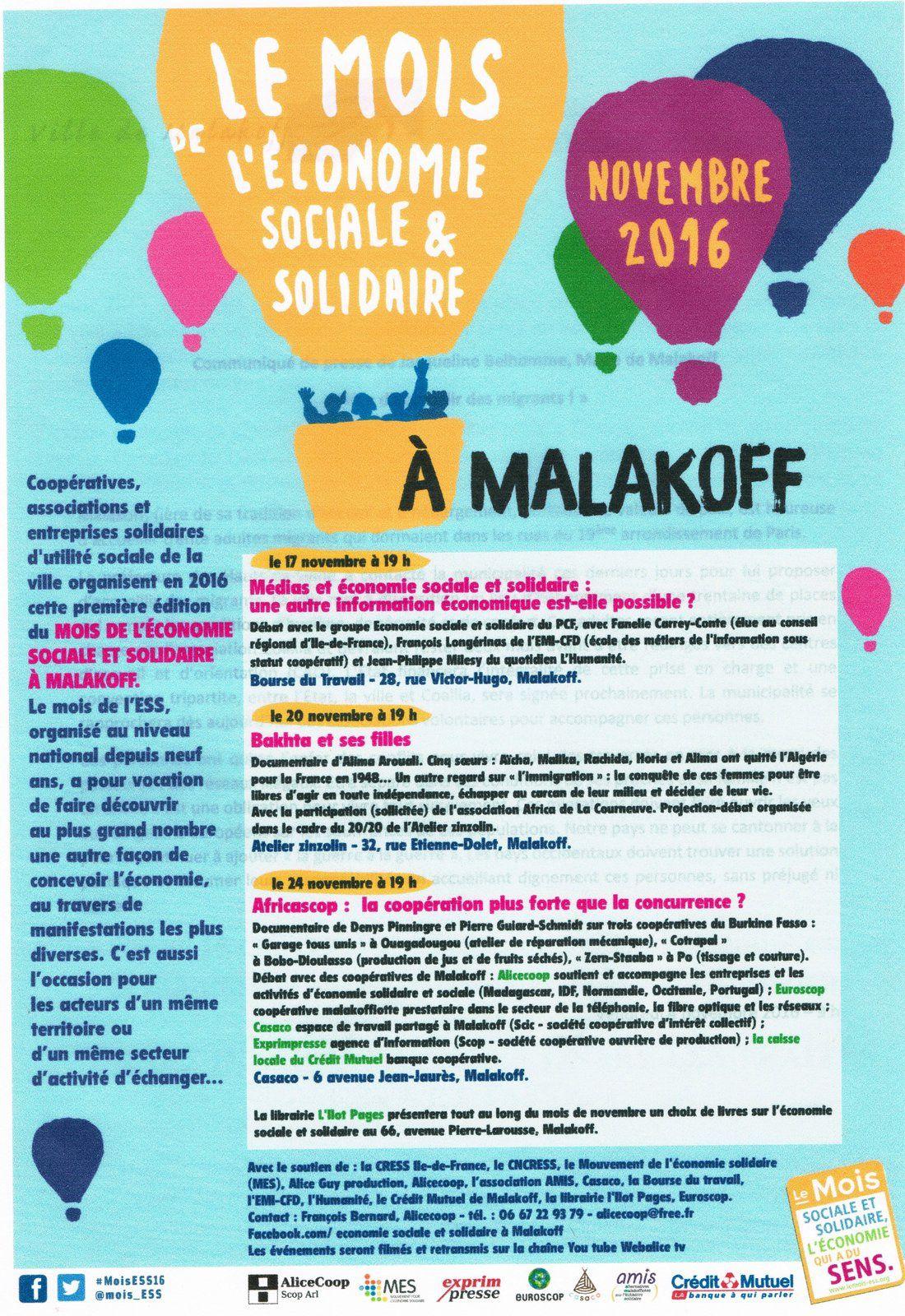 Malakoff: l'économie sociale et solidaire en lumière
