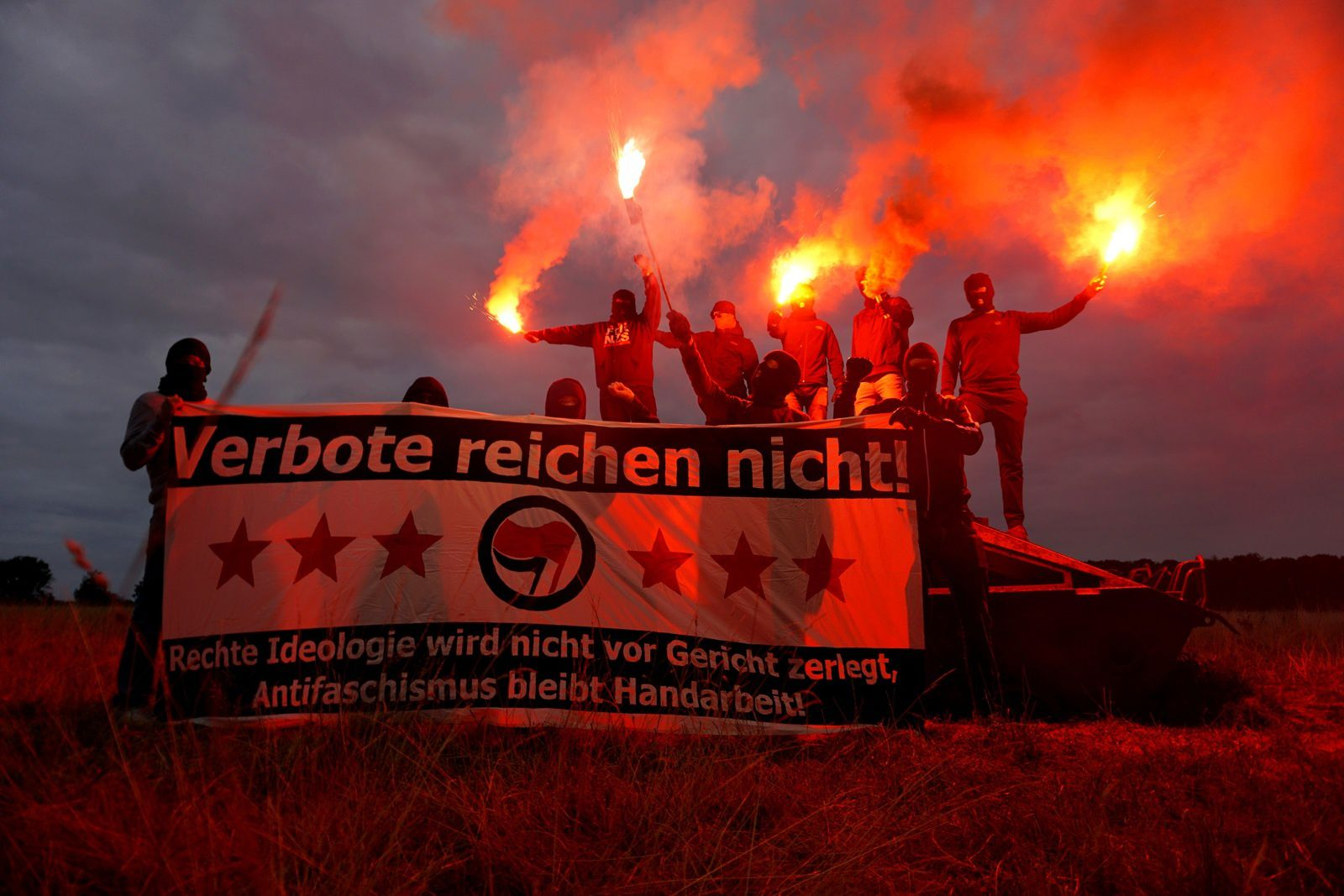 L'action antifasciste en Allemagne