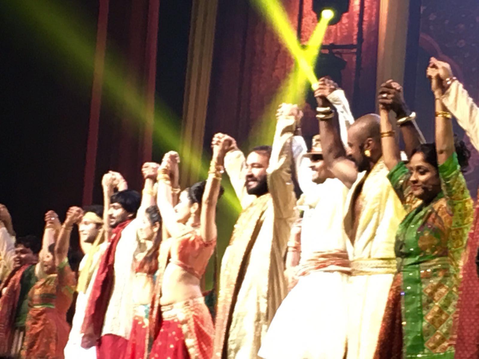 Stage et Bharati 2 le soir ,show au Nikaïa !