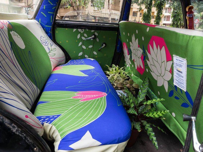 """""""Jardin urbain"""" offre au passager un espace vert dans l'enfer du macadam.  (CATERS/SIPA)"""