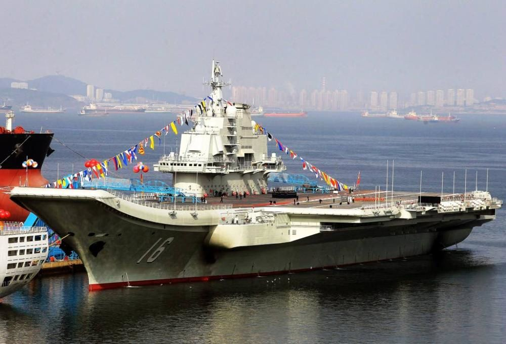 Le porte-avion chinois Liaoning (Photo: CN)