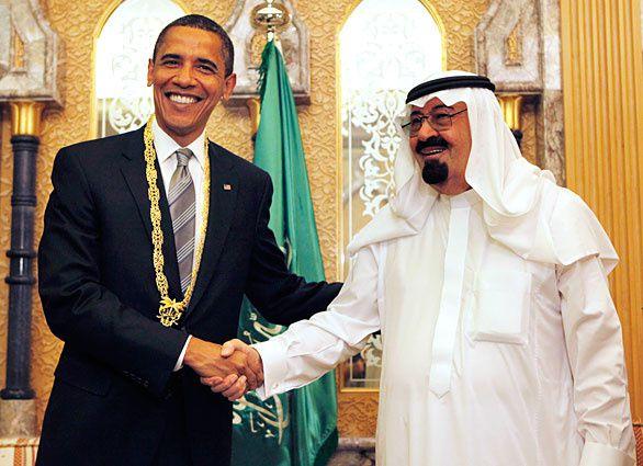 Front uni des USA et de l'Arabie contre Assad